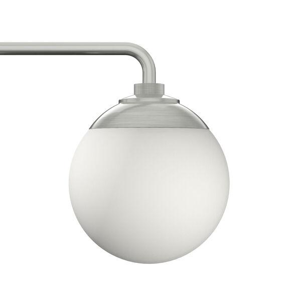 Hepburn Brushed Nickel Three-Light Bath Vanity, image 4