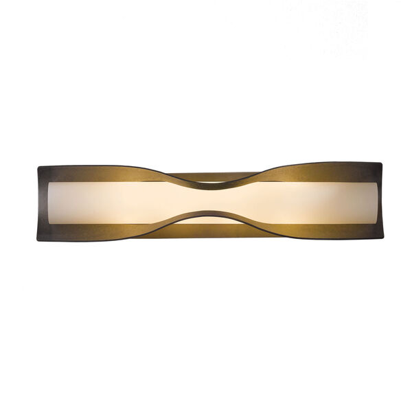 Dune Burnished Steel Four-Light 5-Inch Wall Sconce with Opal Glass, image 2