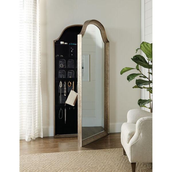 Alfresco Dark Taupe Floor Mirror, image 4