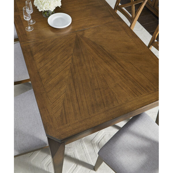 Highland Saddle Brown Leg Table, image 3