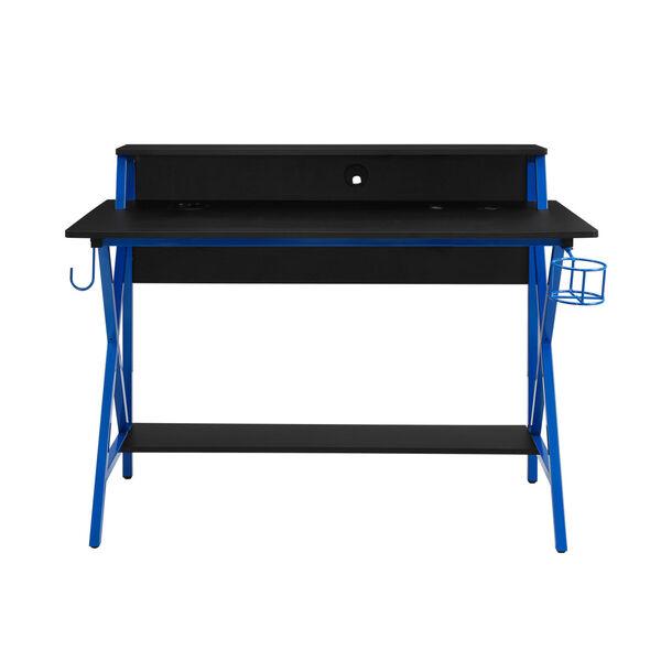 Ian Black Blue Desk, image 4