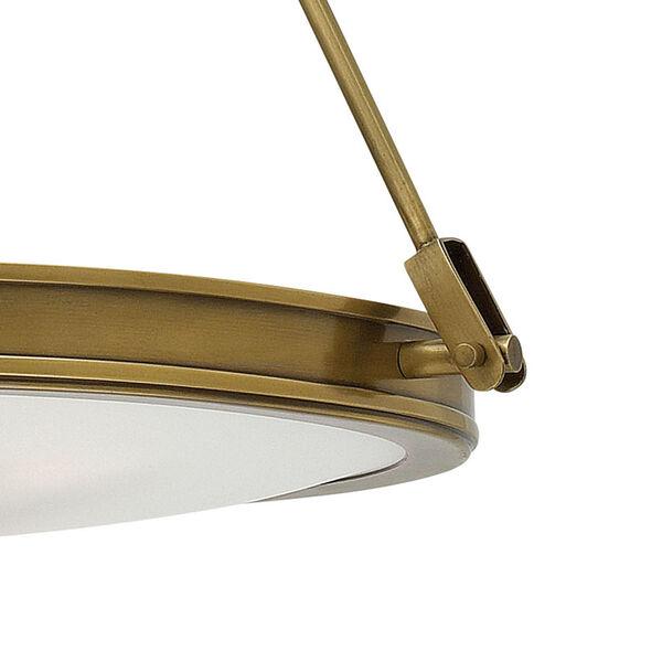 Collier Heritage Brass Four-Light Foyer Pendant, image 2
