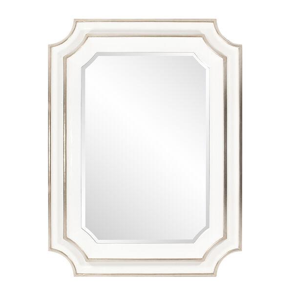 Dante Glossy White Mirror, image 1