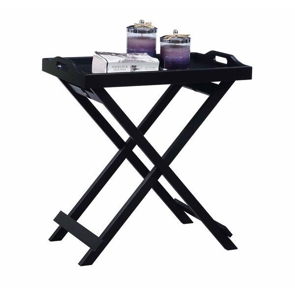 Designs2go Black Folding Tray Table, image 3