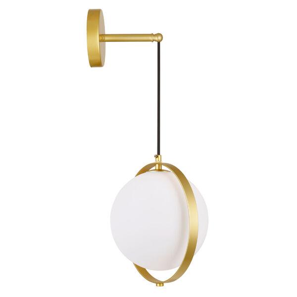 Da Vinci Brass 29-Inch LED Wall Sconce, image 3