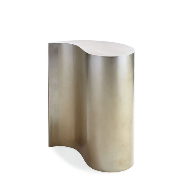 Classic Gold Quote End Table, image 1