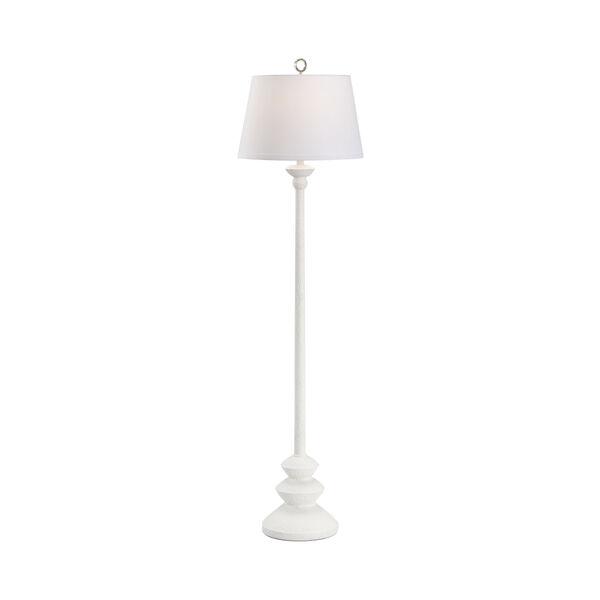 Dorsey Matte White Floor Lamp, image 1