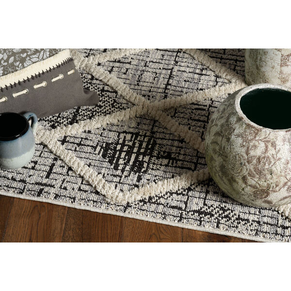 Willow Charcoal Rectangular: 3 Ft. 3 In. x 4 Ft. 11 In. Rug, image 3