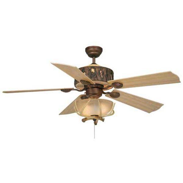 Log Cabin 52-Inch Ceiling Fan, image 1