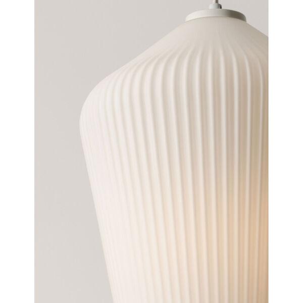 Lola White 11-Inch One-Light Pendant, image 3