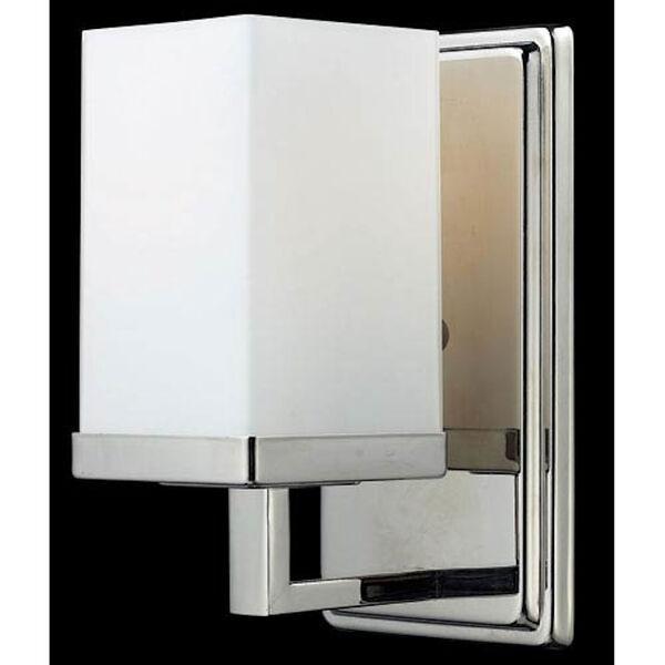 Tidal Chrome One-Light Bath Fixture, image 1