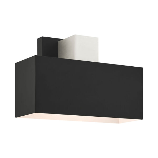 Lynx Black One-Light Outdoor ADA Wall Sconce, image 1