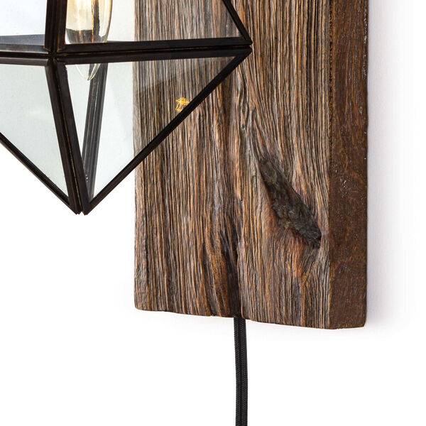 Terra Brown One-Light Wall Sconce, image 4