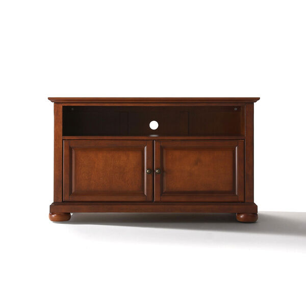 Alexandria 42-Inch TV Stand in Classic Cherry Finish, image 1