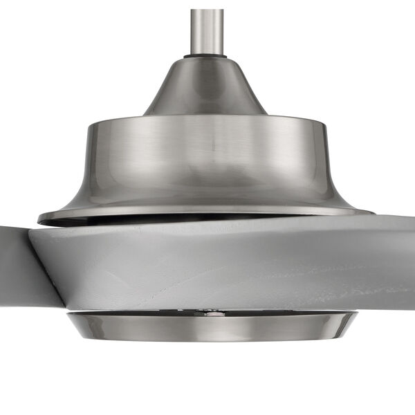 Captivate Brushed Polished Nickel 52-Inch Ceiling Fan, image 3