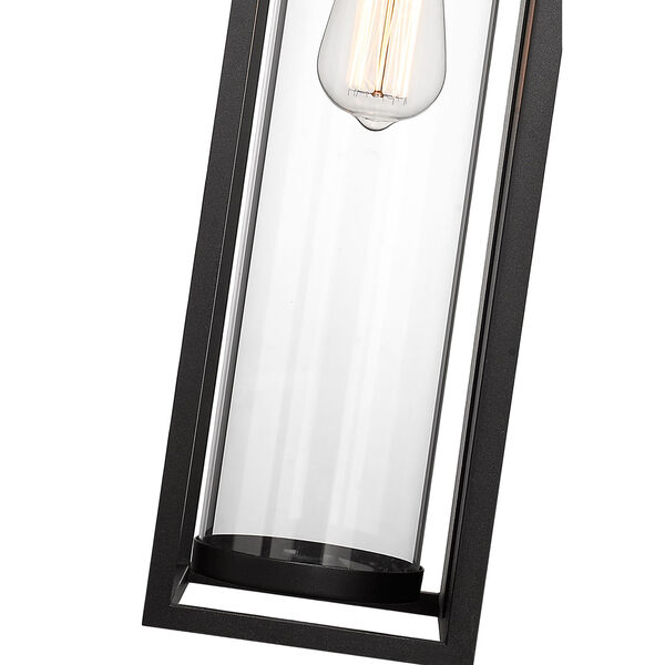 Dunbroch Black 24-Inch One-Light Outdoor Wall Sconce, image 6