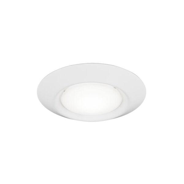 Traverse White Four-Inch T24 3000K 90 CRI LED Recessed Light, image 2