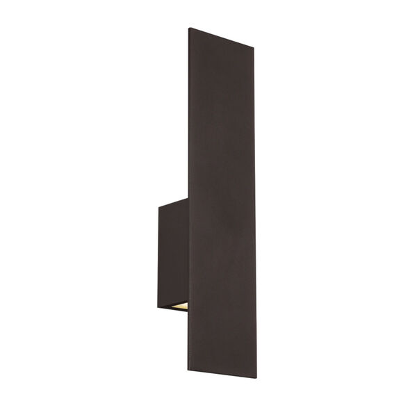 Icon Bronze Three-Inch Two-Light LED Outdoor Wall Sconce, image 1