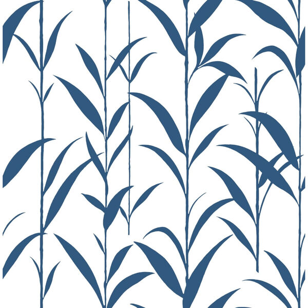 NextWall Green Bamboo Leaves Peel and Stick Wallpaper, image 2