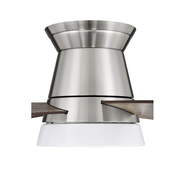 Revello Brushed Polished Nickel 52-Inch LED Ceiling Fan, image 5