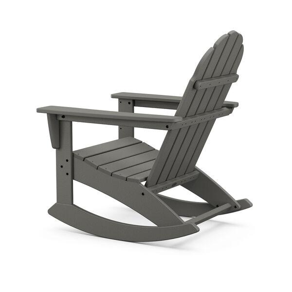 Vineyard White Adirondack Rocking Chair, image 3