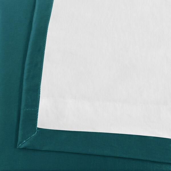 Mediterranean Faux Silk Taffeta Single Panel Curtain, 50 X 120, image 6