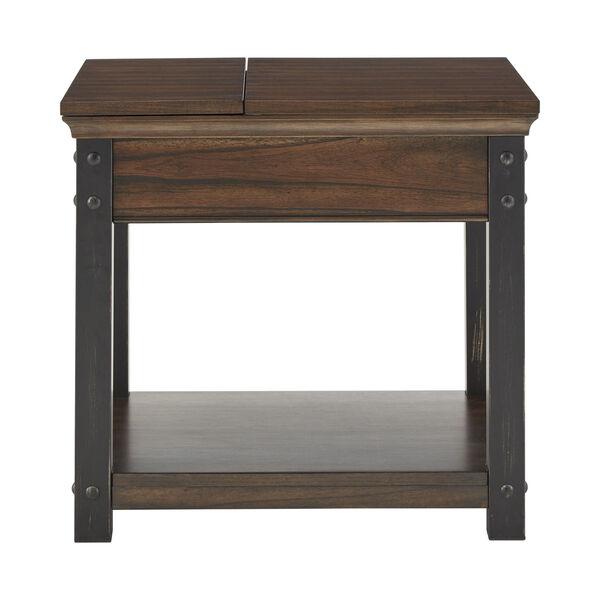 Newton Dark Cherry End Table, image 3