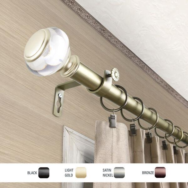 Ironwood Gold 48-84 Inch Curtain Rod, image 3