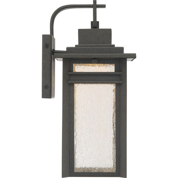Beacon 14-Inch Stone Black LED Outdoor Wall Sconce, image 4