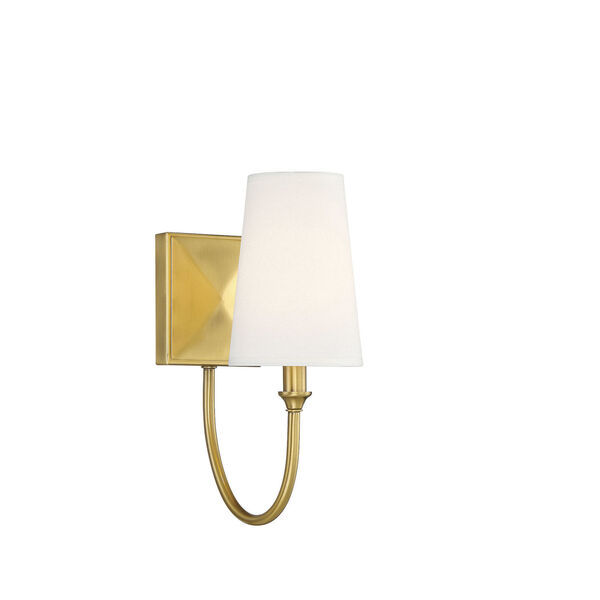 Cameron Warm Brass One-Light Wall Sconce, image 3