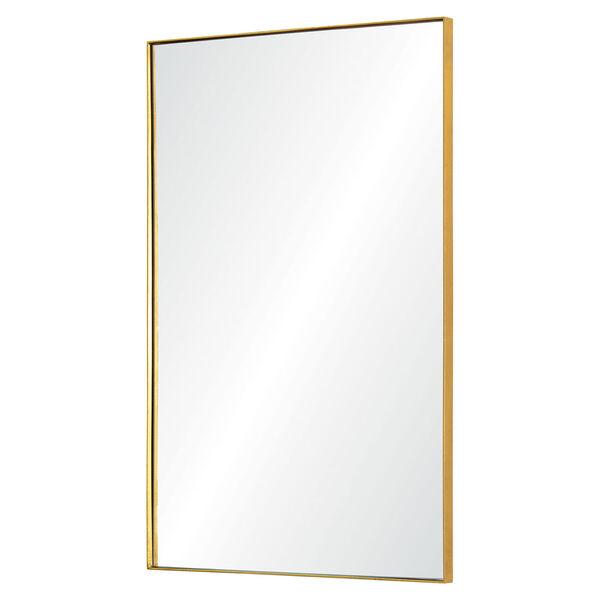 Florence Gold Rectangular Mirror, image 2