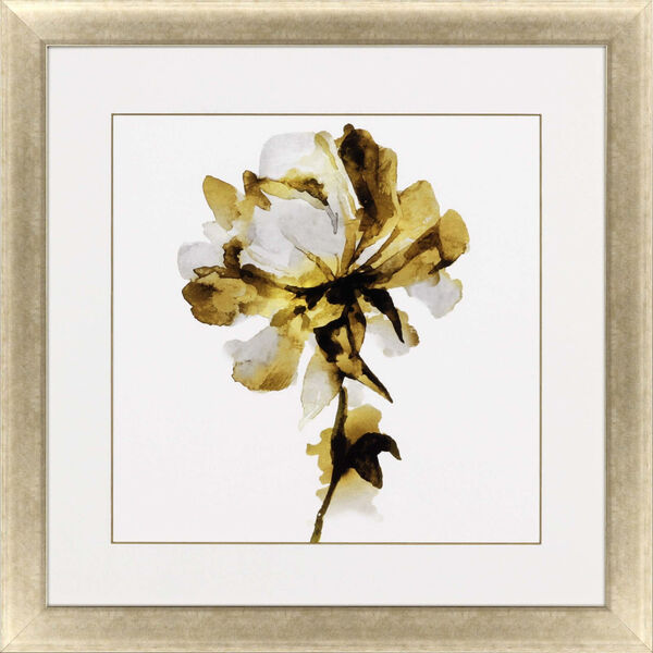 Fresh Bloom I Yellow Framed Art, image 2