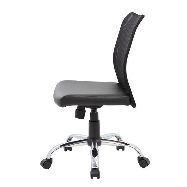 Boss 27-Inch Black Budget Mesh Task Chair, image 3