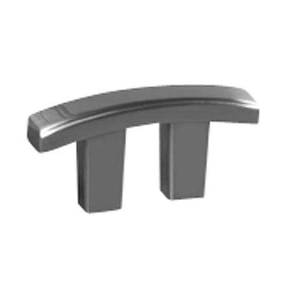 Arch Satin Nickel 3/4-Inch Pull, image 1