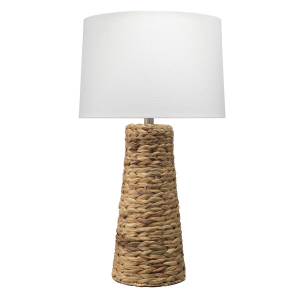 Natural Seagrass One-Light Haven Table Lamp, image 1