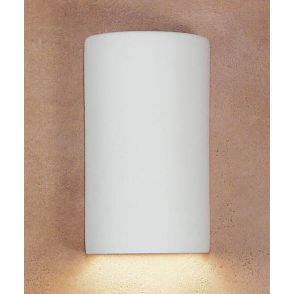 Great Andros Bisque Flush Wall Sconce, image 1