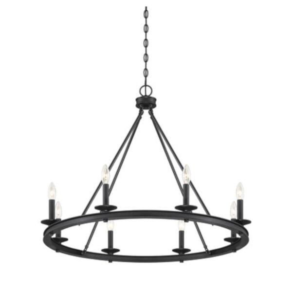 Elle Classic Bronze 33-Inch Eight-Light Chandelier, image 4