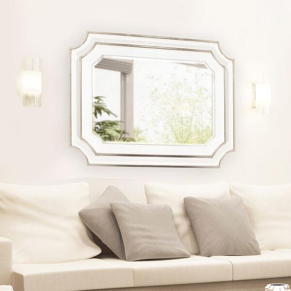Dante Glossy White Mirror, image 4