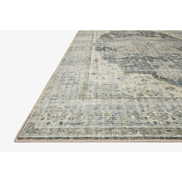 Skye Charcoal and Dove Rectangular: 7 Ft. 6 In. x 9 Ft. 6 In. Area Rug, image 2