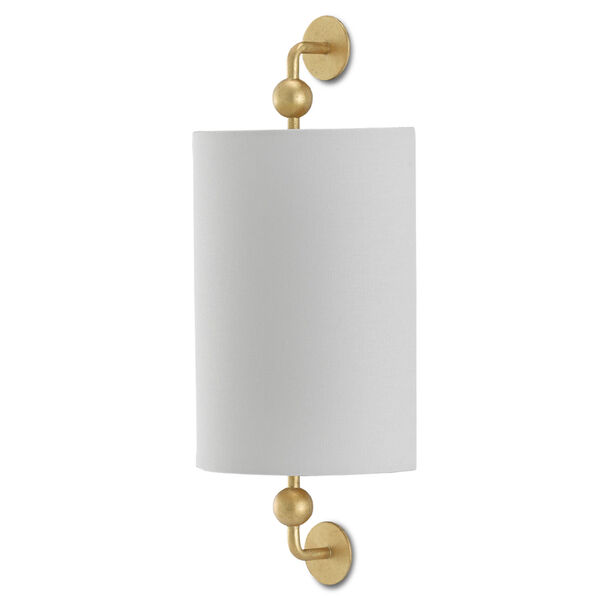 Tavey Contemporary Gold One-Light Wall Sconce, image 2