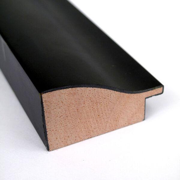 Steinway Black Scoop 33 x 43 In. Wall Mirror, image 2