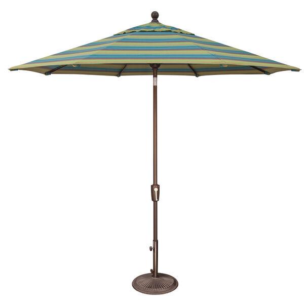 Catalina Astoria Lagoon Stripe Market Umbrella, image 1