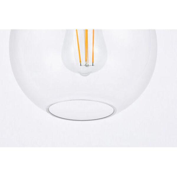 Emett Brass One-Light Plug-In Pendant, image 4
