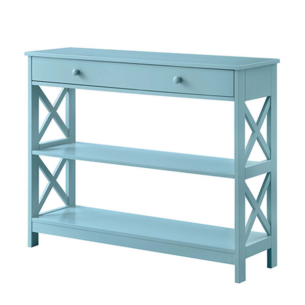 Oxford Sea Foam One Drawer Console Table, image 6