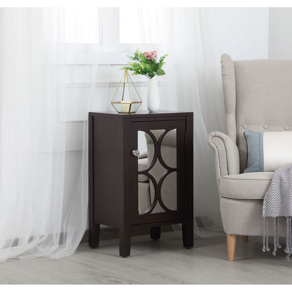 Modern Dark Walnut 18-Inch Cabinet, image 3
