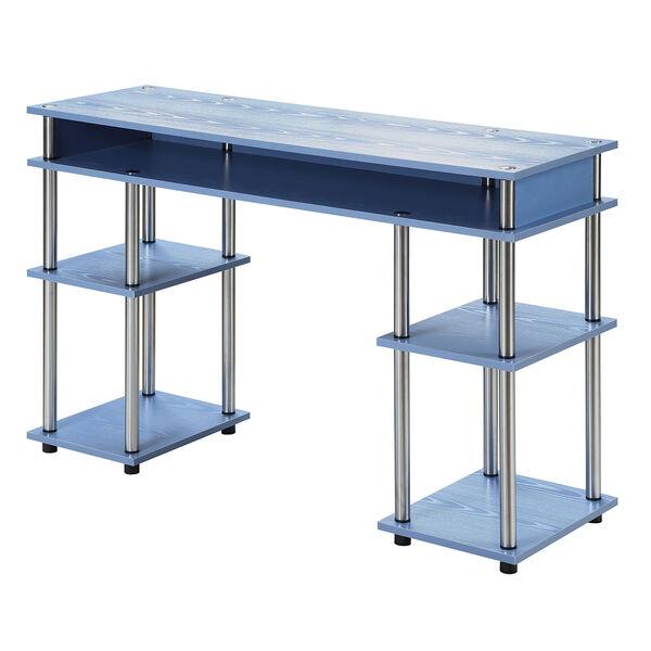Designs2Go Blue No Tools Student Desk, image 2