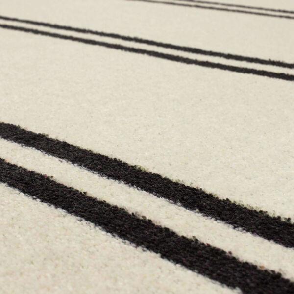 Camden Ivory Neutral Striped Rectangular: 5 Ft. x 8 Ft. Area Rug, image 6