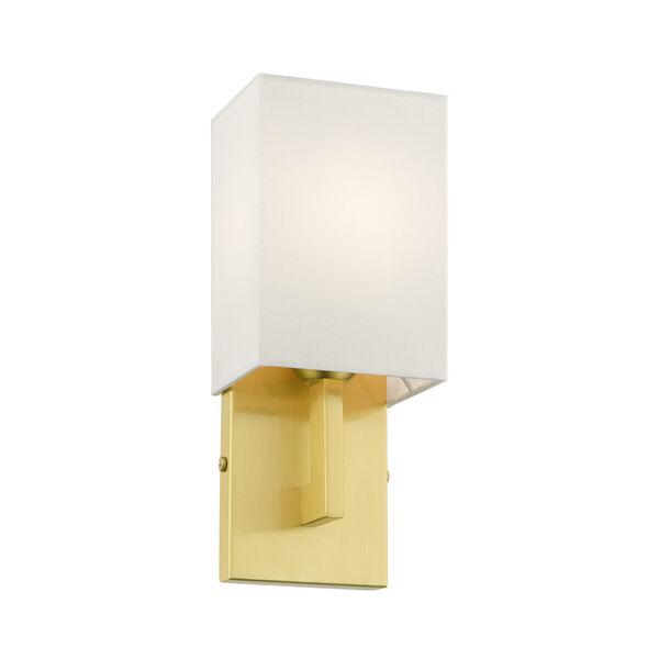 Meridian Satin Brass One-Light ADA Wall Sconce, image 4