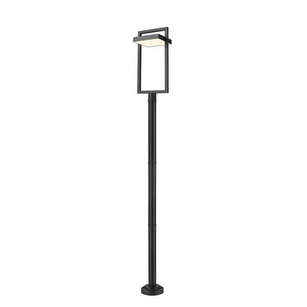 Luttrel Black 104-Inch One-Light LED Outdoor Post Mount, image 1
