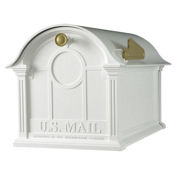 White Balmoral Mailbox, image 1